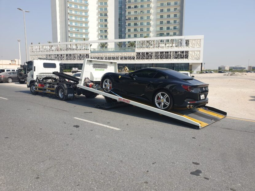 car recovery service