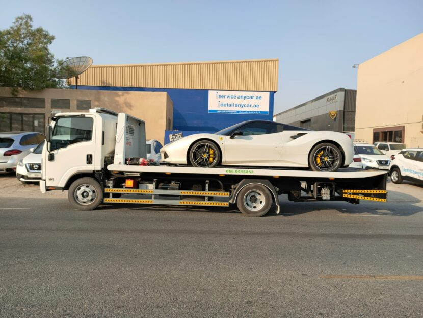 vehicle recovery service